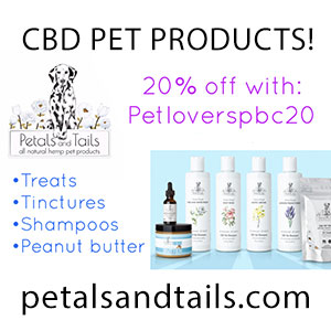 CBD Pet Products Petals and Tails