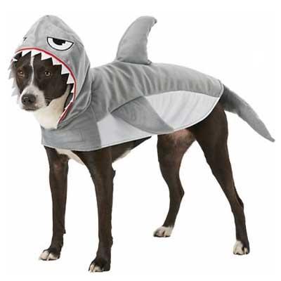 Shark Dog Cat Halloween Costume