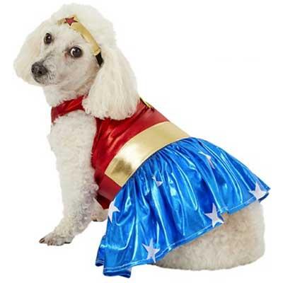 Wonder Woman Dog & Cat Halloween Costume